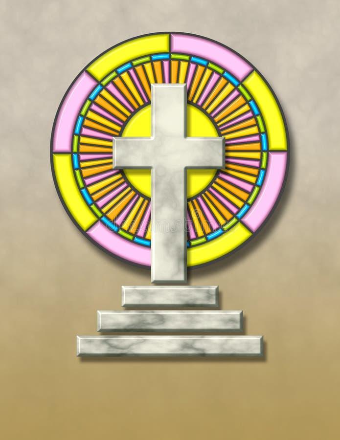 Cruz de mármol libre illustration
