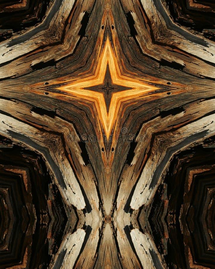 Cruz de madeira 10 da grão fotografia de stock royalty free