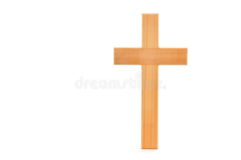 Cruz de madera imagen de archivo libre de regalías
