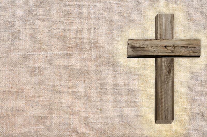 Cruz de madera fotos de archivo libres de regalías
