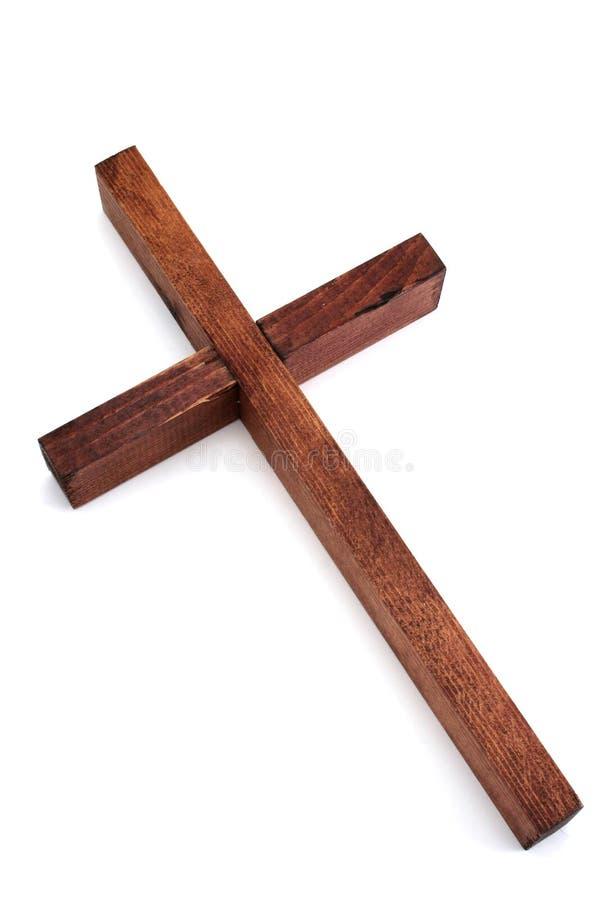 Cruz de madera fotos de archivo