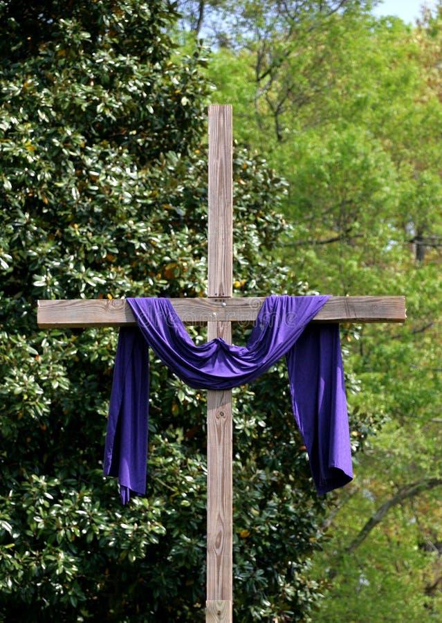 Cruz de Pascua imagen de archivo