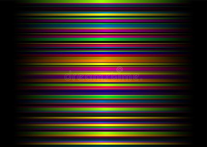 Cruz del arco iris del caramelo stock de ilustración