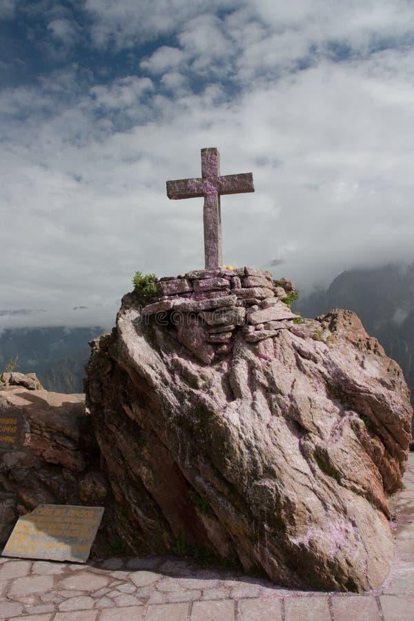 Cruz del Condor imagen de archivo libre de regalías