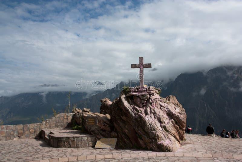 Cruz del Condor photographie stock libre de droits