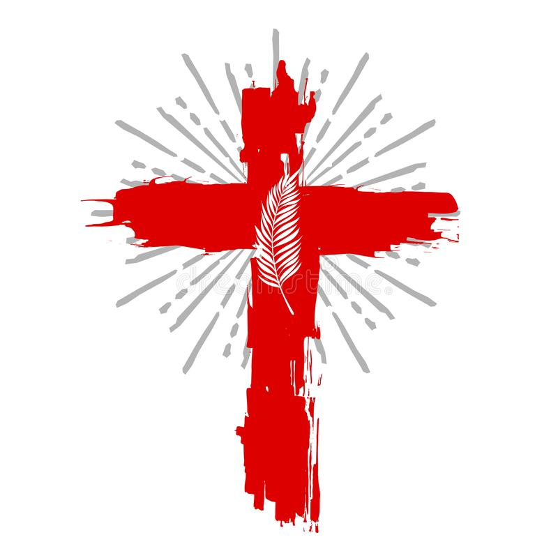 Cruz del ejemplo de Jesus Christ Easter libre illustration