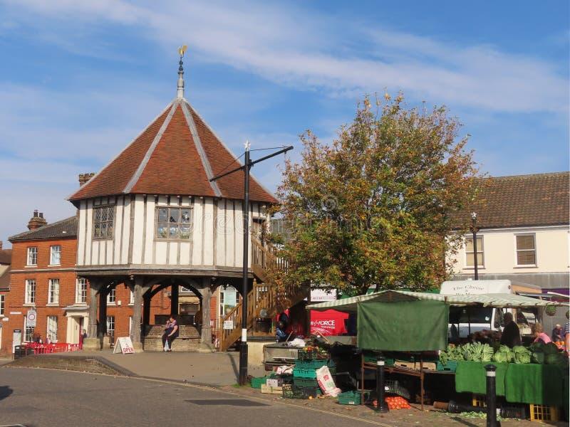 Cruz del mercado de Wymondham fotografía de archivo