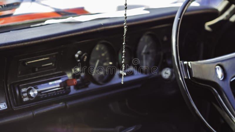 Cruz do carro foto de stock