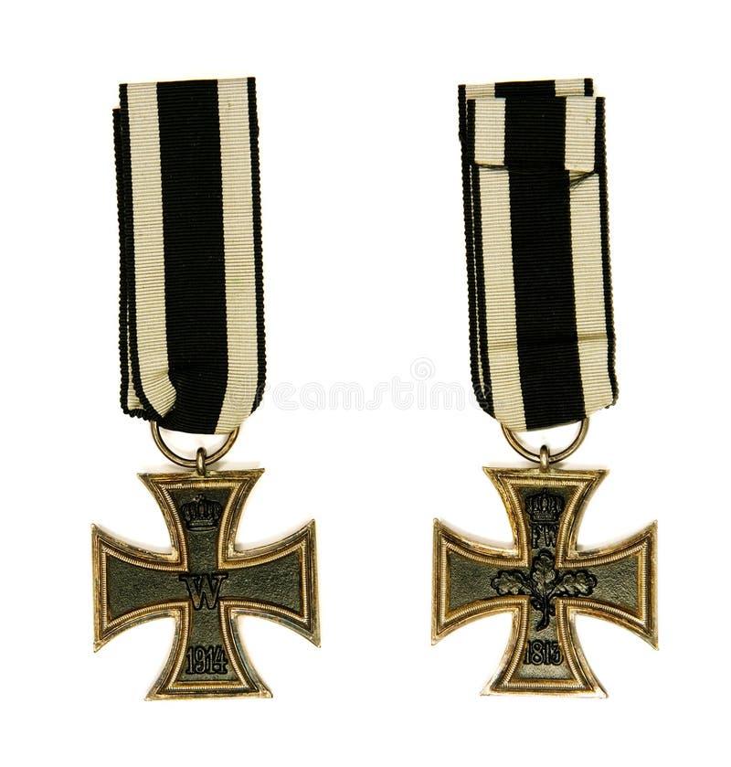 Cruz do ferro imagens de stock royalty free