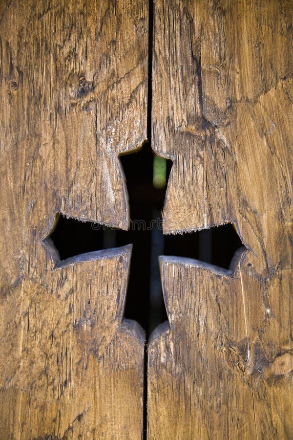 Cruz medieval imagens de stock