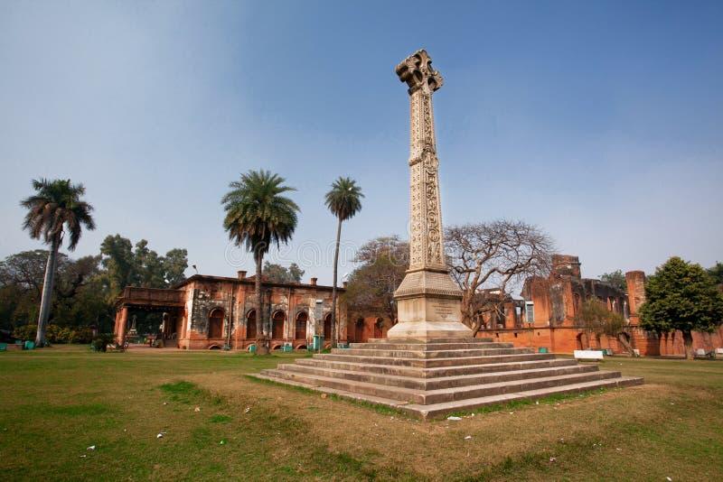 Cruz memorável da residência de Lucknow imagens de stock royalty free