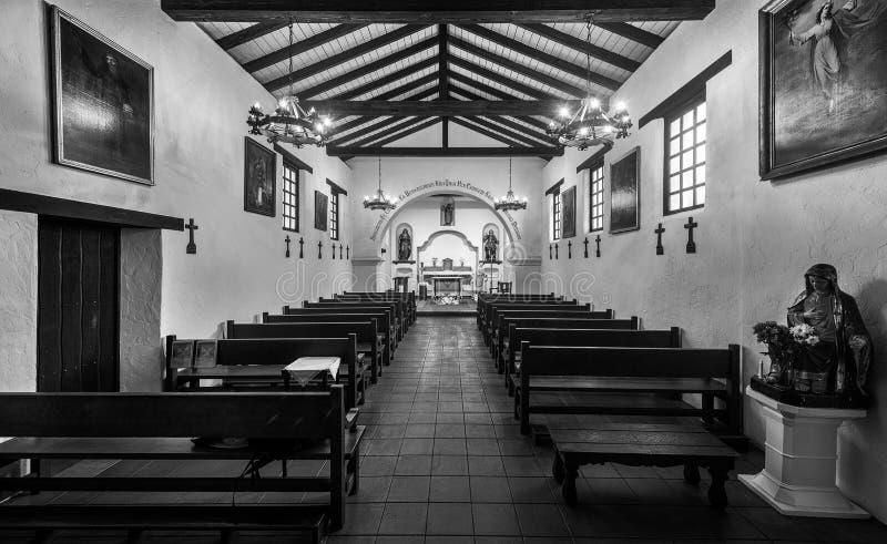 cruz misja Santa obraz royalty free