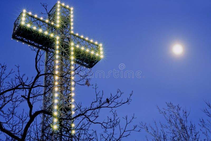 cruz Mont-real fotografía de archivo
