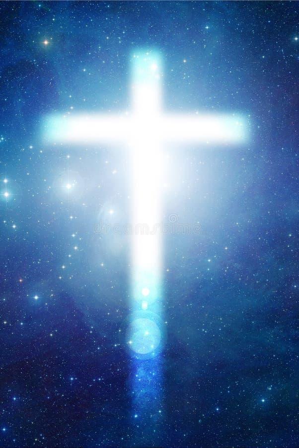 Cruz Mystical ilustração do vetor