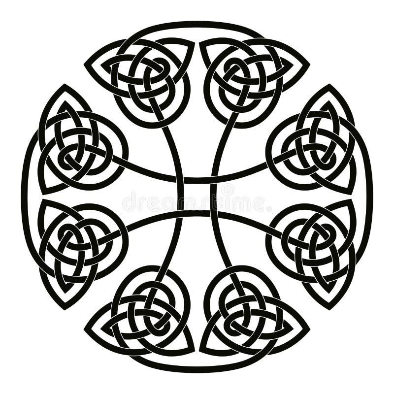 Cruz nacional celta ilustração stock