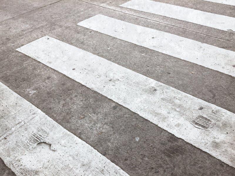 Cruz peatonal imagen de archivo