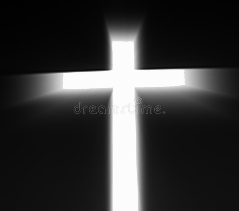 Cruz religiosa ilustración del vector