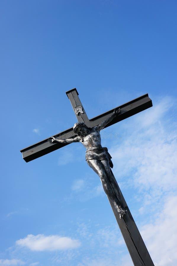 Cruz religiosa imagen de archivo libre de regalías
