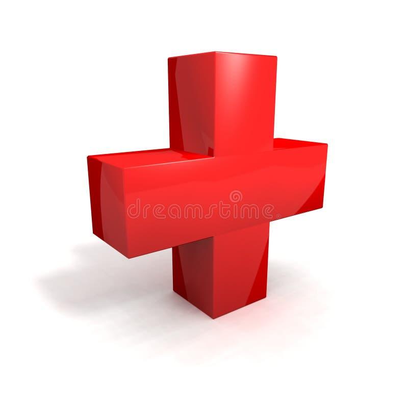 Cruz Roja ilustración del vector