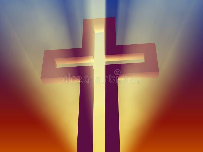 Cruz santa fotos de archivo