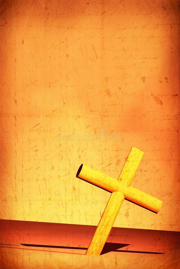 Cruz santa stock de ilustración