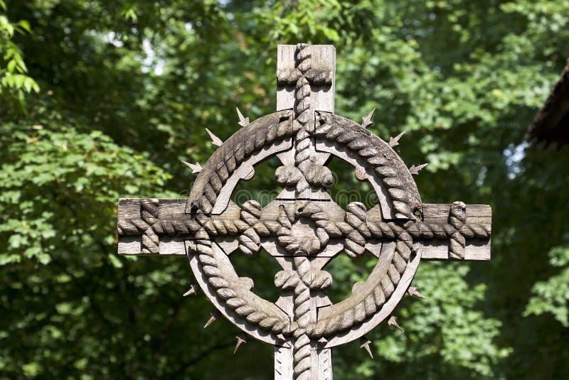 Cruz tradicional imagem de stock royalty free