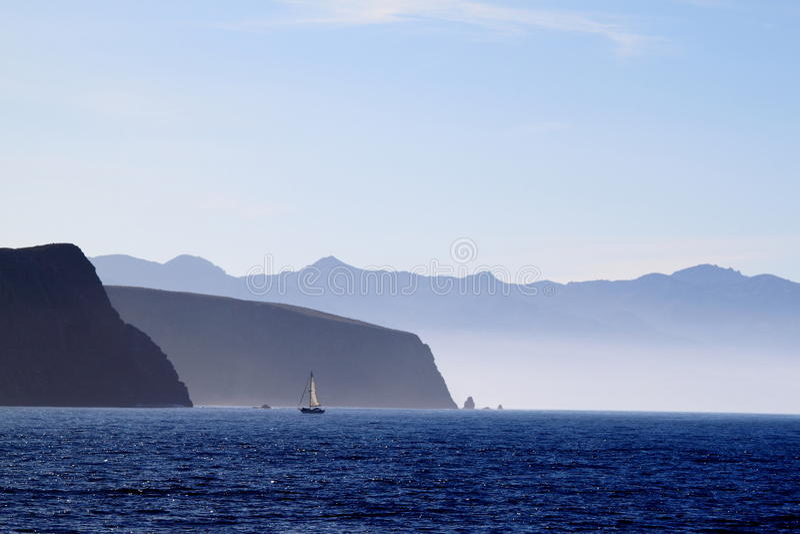cruz wyspa Santa obraz stock