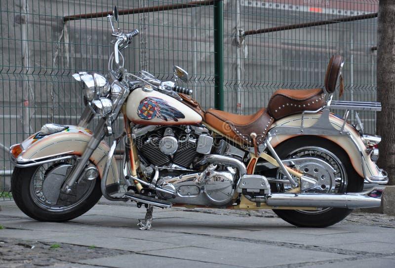 Cruzador da motocicleta imagens de stock royalty free