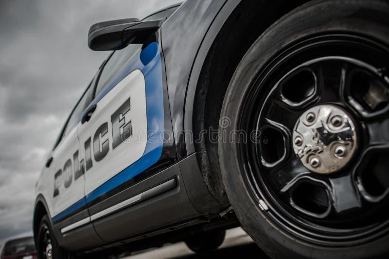 Cruzador da polícia do estado imagem de stock
