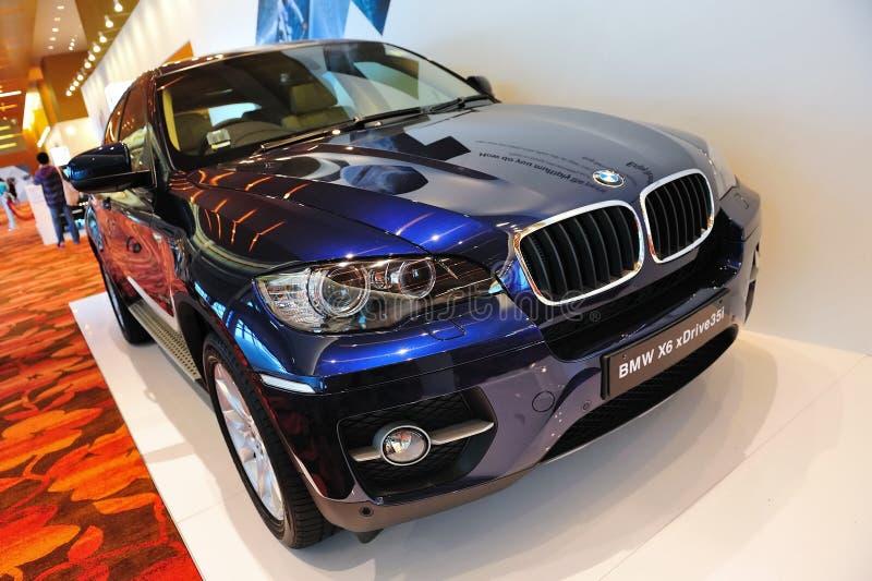 Cruzamento de BMW X6 foto de stock royalty free