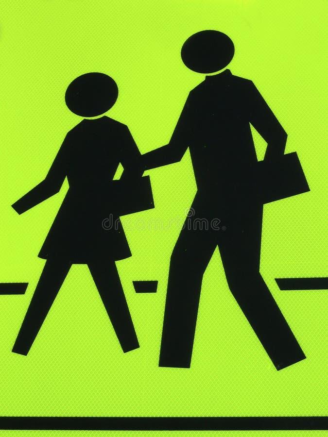 Cruzamento de pedestre ilustração stock