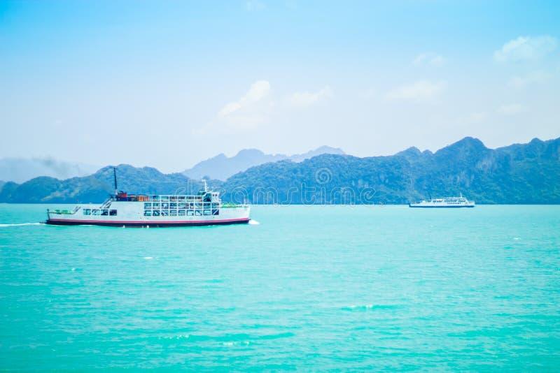 Cruzamento do ferryboat imagens de stock