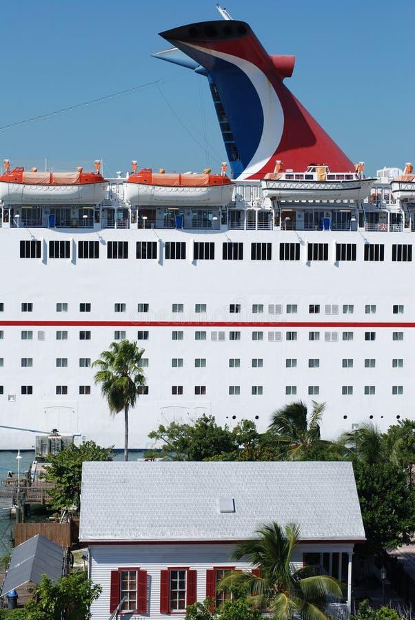 Cruzamento em Key West imagem de stock royalty free