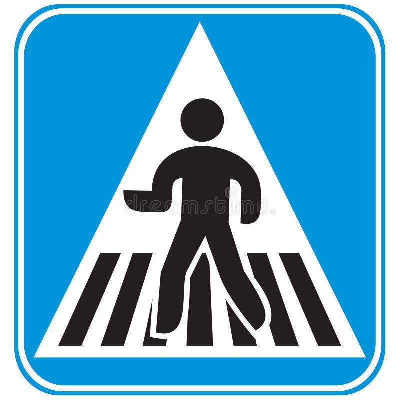 Cruzamento pedestre ilustração stock