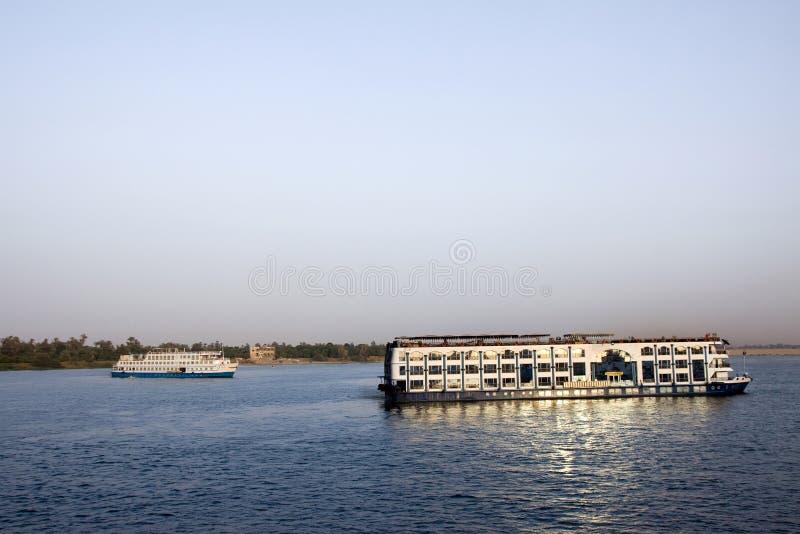 Cruzeiro de Nile foto de stock