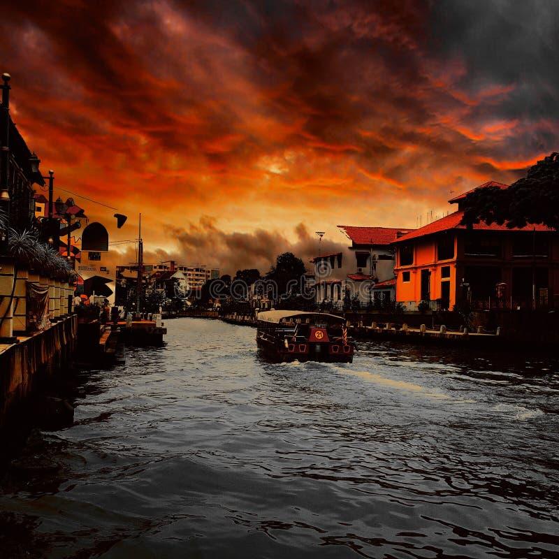 Cruzeiro do rio fotografia de stock