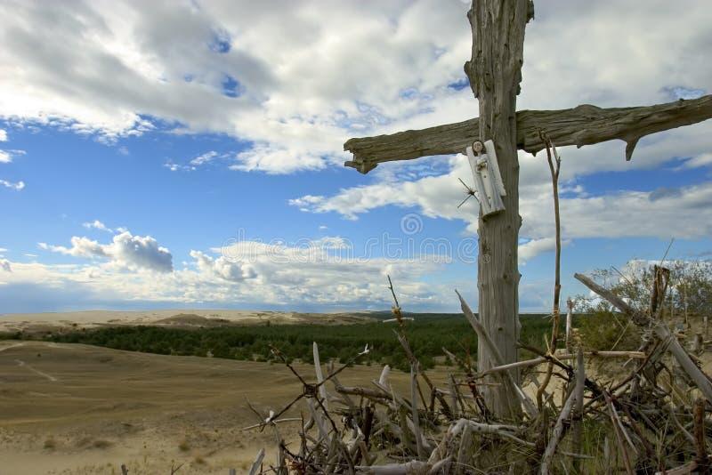 Cruzes, Neringa Imagem de Stock Royalty Free
