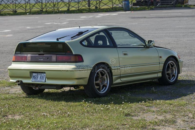 Crx de Honda imagen de archivo libre de regalías