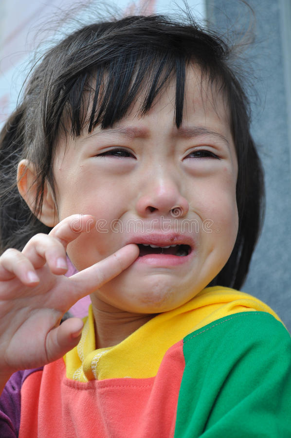 Crying stock images