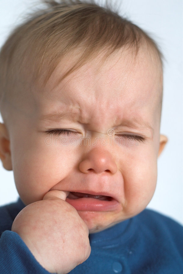 Download Crying Baby stock image. Image of child, unhappiness, small - 1936229