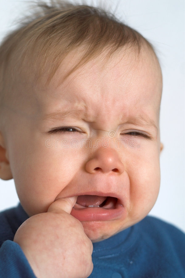 Download Crying Baby stock image. Image of sadness, fussy, tears - 1936297