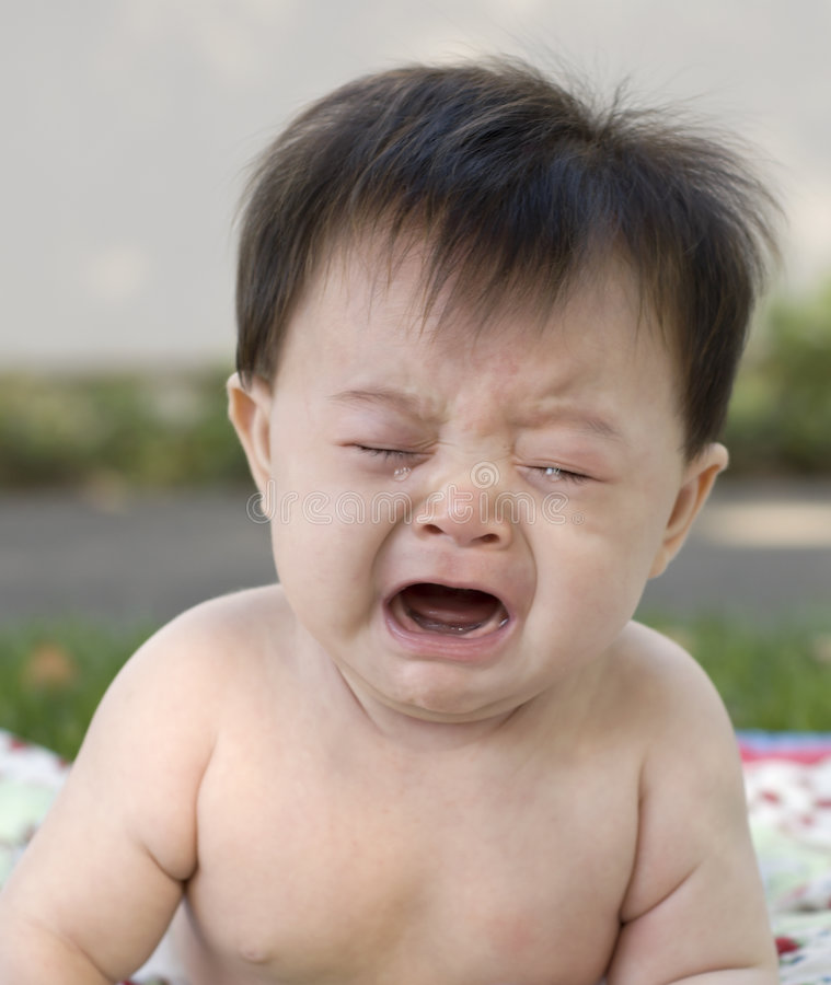 Asian Toddler Crying Stock Photo - Download Image Now - iStock