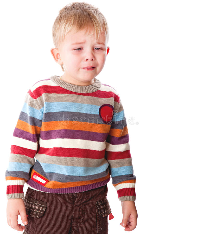 Download A Crying Boy Stock Photo - Image: 19803450