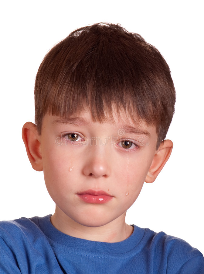 Download Crying boy stock photo. Image of troubled, disappointed - 7983110