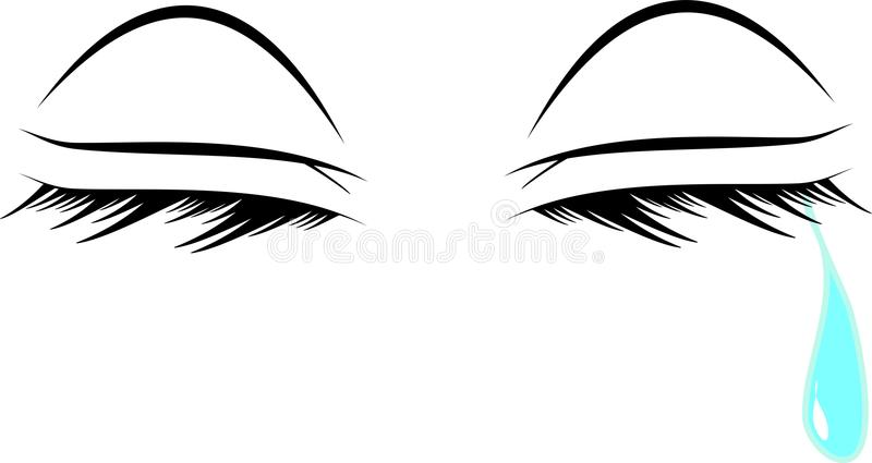 Download Crying eyes stock image. Image of details, pressure, remorse - 24481203