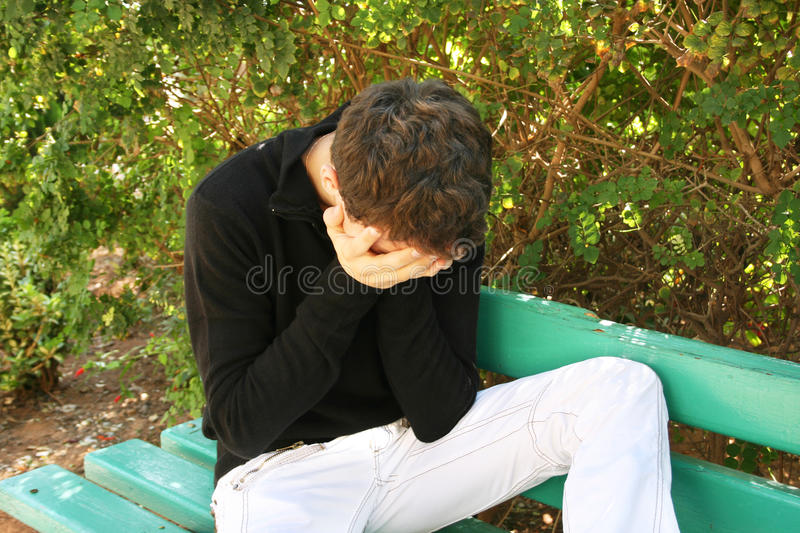 Download Crying man stock photo. Image of problem, crisis, green - 22623514