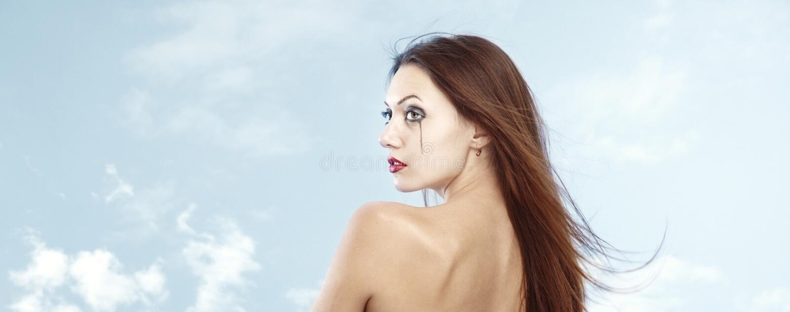 Download Crying sky stock image. Image of drop, pretty, cosmetics - 22126337