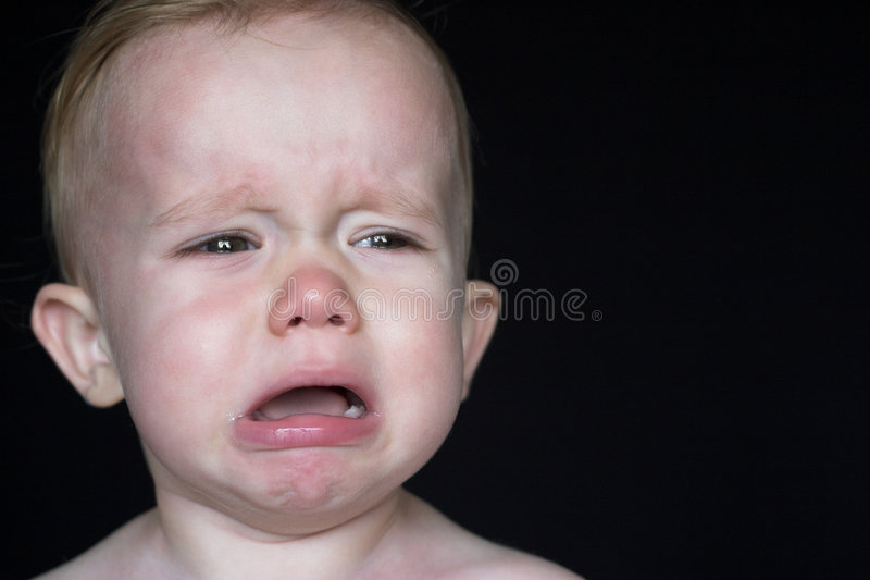 Download Crying Toddler Stock Photo - Image: 2682090
