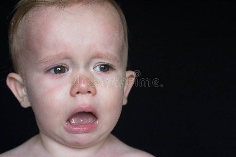 Download Crying Toddler stock image. Image of innocence, blubber - 2682177