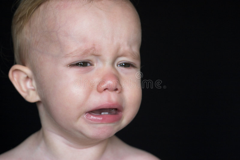 Download Crying Toddler stock image. Image of adorable, blubbering - 2682363